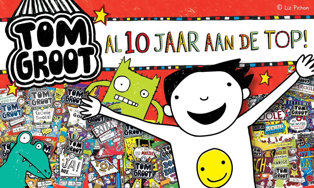 Gottmer Kinderboeken - Tom Groot